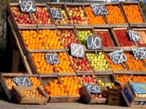 banco de frutas