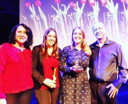 Troféu Mulher Imprensa - com família