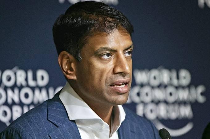 Vasant Narasimhan, presidente da Novartis